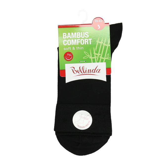 Vysoké čierne ponožky s bambusom bellinda, čierna, 919-6715 - 13