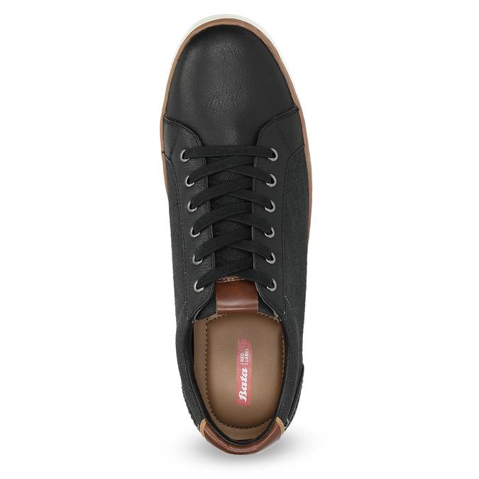 Pánske ležérne tenisky bata-red-label, čierna, 841-6616 - 17