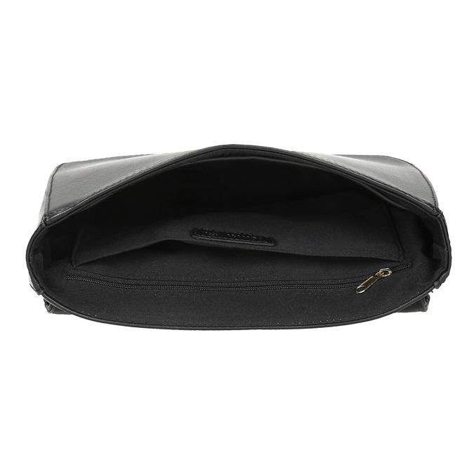 Bata Red Label Čierna prešívaná kabelka s retiazkou - Doplnky  005c3045d64