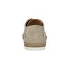 Pánske béžové kožené tenisky s perforáciou bata, béžová, 823-8617 - 15