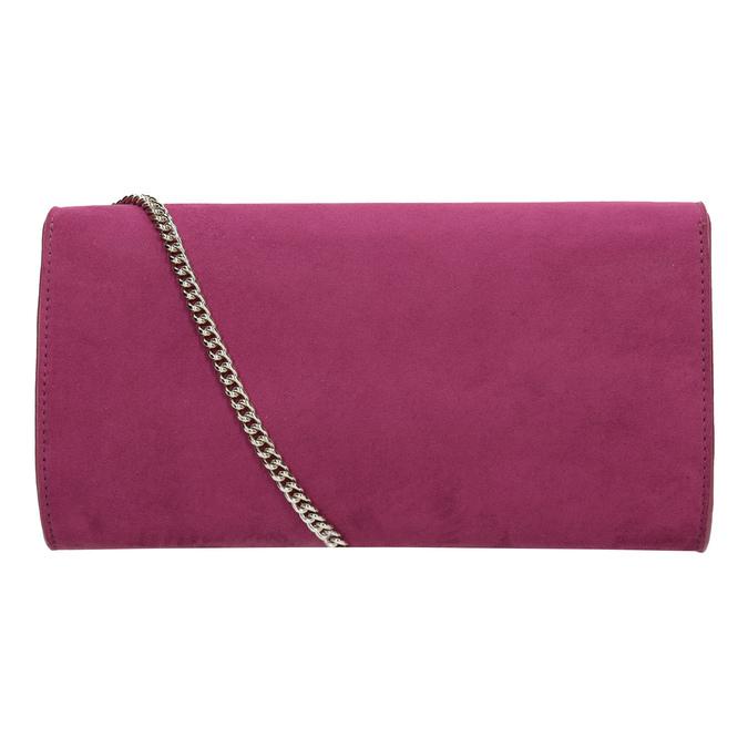Ružová listová kabelka s volánmi bata, ružová, 969-5687 - 16