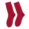 Červené pánske vysoké ponožky bata, červená, 919-5646 - 26