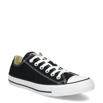 Dámske čierne tenisky s gumovou špičkou converse, čierna, 589-6279 - 13