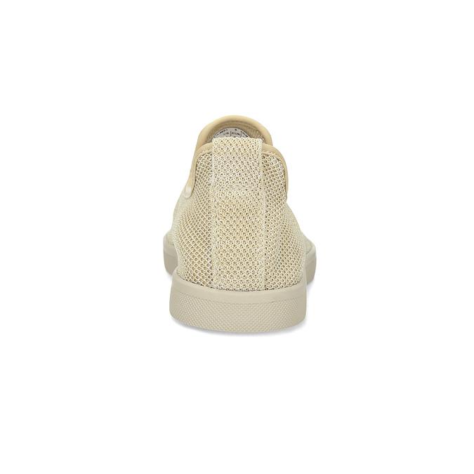 Béžové pánske Slip-on btopánky bata-red-label, béžová, 839-8601 - 15