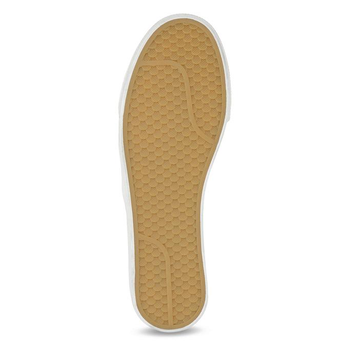 Biela dámska Slip-on obuv s mašľou north-star, biela, 511-1606 - 18