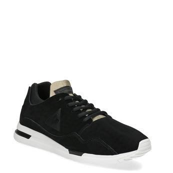 Čierne dámske tenisky z brúsenej kože le-coq-sportif, čierna, 503-6308 - 13