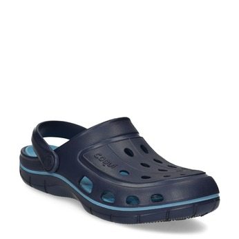 Modré detské sandále typu Clogs coqui, modrá, 372-9656 - 13