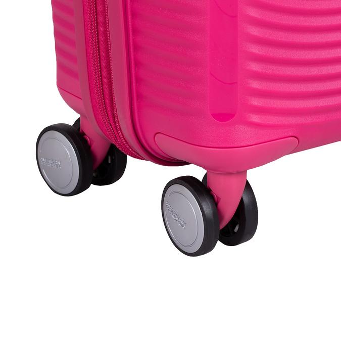 Ružový škrupinový kufor american-tourister, ružová, 960-5615 - 16