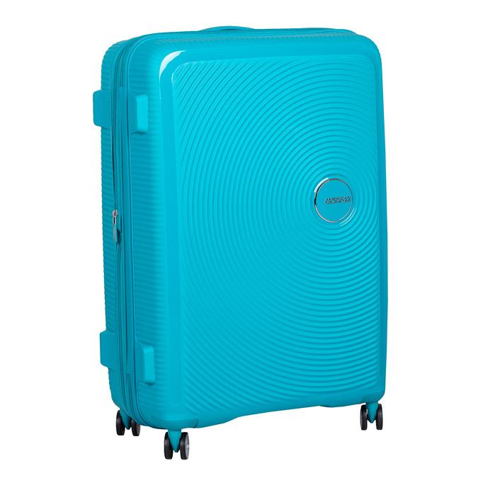 ac082696b704e Tyrkysový pevný kufor na kolieskach american-tourister, modrá, 960-9613 - 13