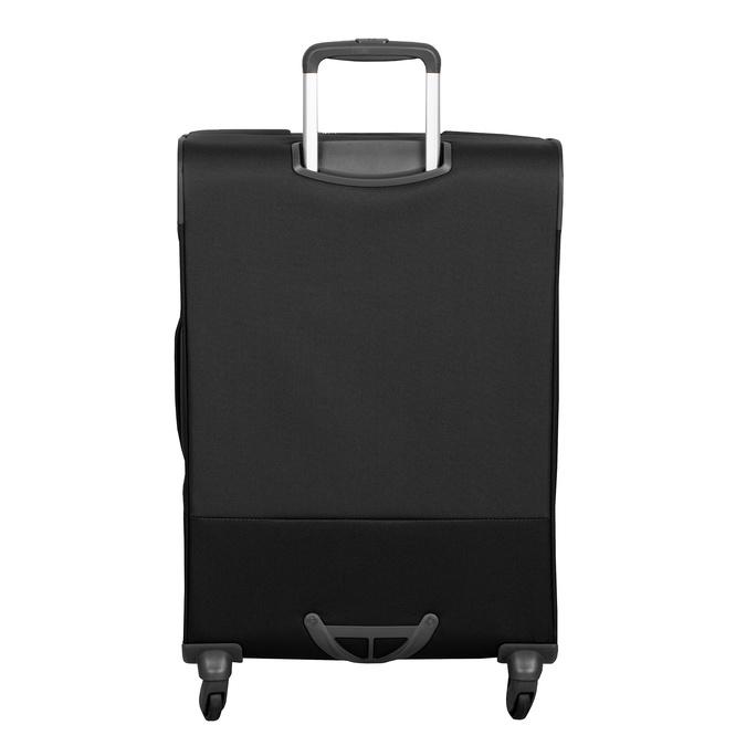 Čierny textilný kufor samsonite, čierna, 960-6039 - 26