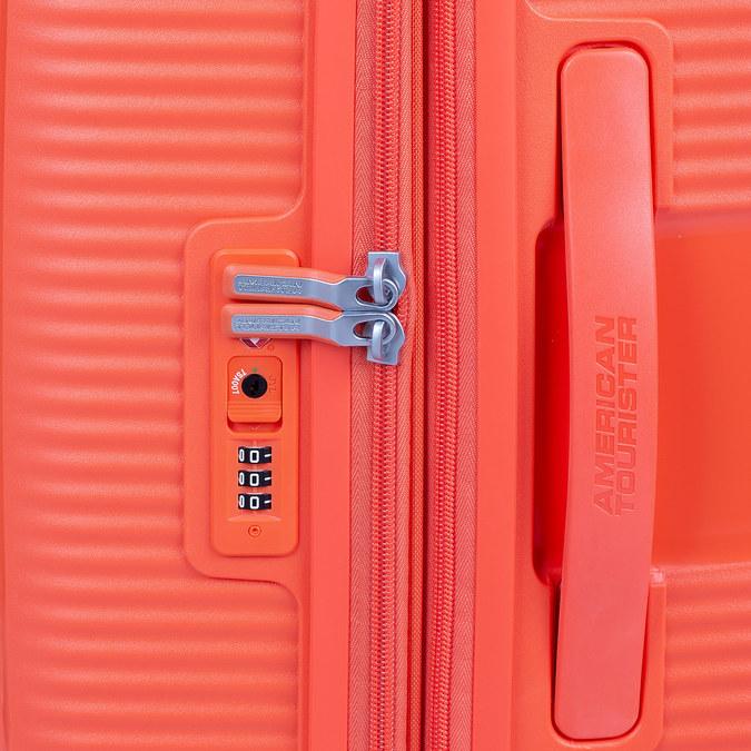 Oranžový kufor na kolieskach american-tourister, oranžová, 960-5614 - 15