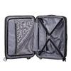 Čierny pevný kufor na kolečkách american-tourister, čierna, 960-6614 - 17