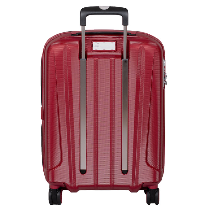 Malý červený škrupinkový kufor na kolieskach roncato, červená, 960-5738 - 26