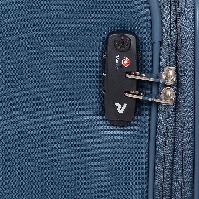 Palubný tyrkysový kufor roncato, modrá, 969-9722 - 15
