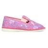 Ružové detské prezuvky so vzorom bata, ružová, 279-5129 - 19