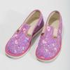 Detské ružové prezuvky so vzorom bata, ružová, 379-5218 - 16