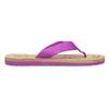 Dámske fialové žabky pata-pata, fialová, 579-5630 - 19