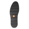 Pánska členková modrá kožená obuv flexible, modrá, 823-2632 - 18