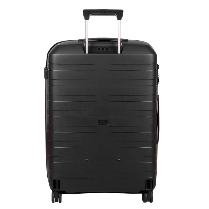 Malý škrupinový kufor na kolieskach roncato, čierna, 960-9728 - 26