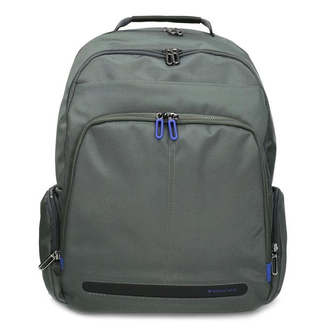 Šedý batoh s vreckom na notebook roncato, šedá, 969-2741 - 26