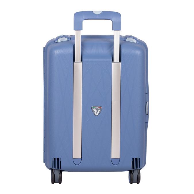 Palubná modrá batožina na kolieskach roncato, modrá, 960-9731 - 26