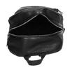 Čierny dámsky batoh s kamienkami bata, čierna, 961-6867 - 15