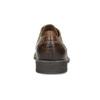 Hnedé kožené pánske poltopánky bata, hnedá, 826-3866 - 15