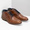 Hnedá členková kožená pánska obuv bata, hnedá, 826-3505 - 26