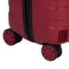 Veľký červený kufor na kolieskach roncato, červená, 960-5727 - 16