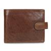 Pánska kožená hnedá peňaženka bata, hnedá, 944-3202 - 26
