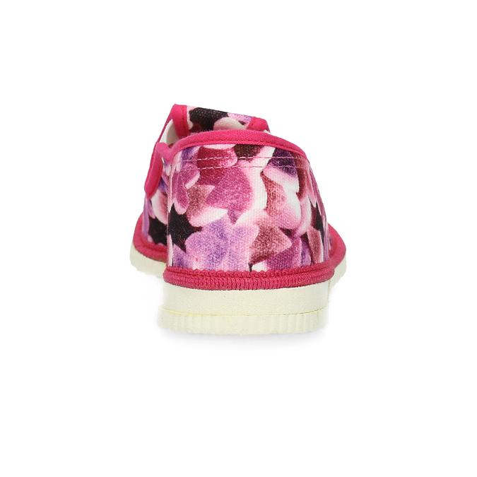 Ružové detské prezuvky so vzorom bata, ružová, 379-9123 - 15