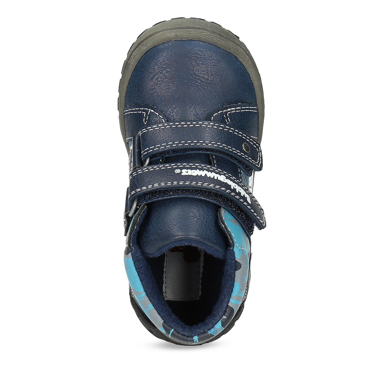c511c1cc8b985 ... Detské modré členkové topánky na suché zipsy bubblegummers, modrá,  111-9628 - 17 ...