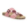 Dámske ružové korkové papuče bata, ružová, 579-5625 - 13