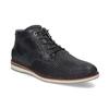 Modrá pánska kožená členková obuv bata, modrá, 826-9912 - 13