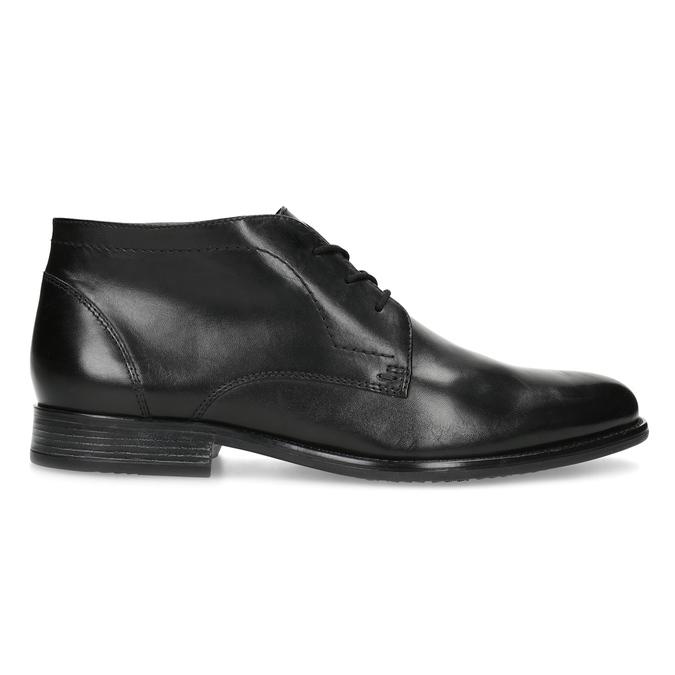 Pánska kožená členková obuv bata, čierna, 824-6892 - 19