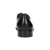Kožené pánske Derby poltopánky s prešitím bata, čierna, 824-6633 - 15