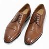Hnedé kožené pánske poltopánky bata, hnedá, 826-3406 - 16