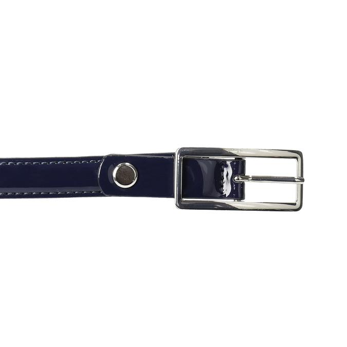 Modrý dámsky opasok so sponou bata, modrá, 951-9605 - 26