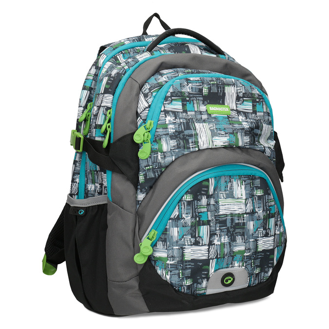 3df96056ce Bagmaster Školský batoh šedo-modrý - Školské batohy