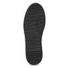 Čierne dámske tenisky s kamienkami bata-light, čierna, 549-6611 - 18