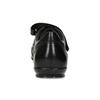 Pánske kožené tenisky na suchý zips geox, čierna, 814-6086 - 15