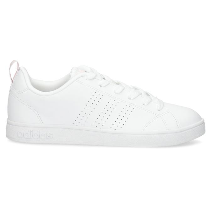Biele dámske tenisky s perforáciou adidas, biela, 501-1800 - 19