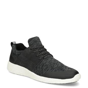 Pánske čierne športové tenisky bata-light, šedá, 849-2634 - 13