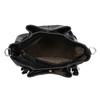 Čierna kabelka s prešitím gabor-bags, čierna, 961-6064 - 15
