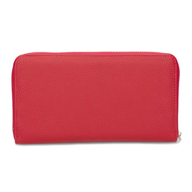 Dámska červená peňaženka so zipsom bata, červená, 941-5221 - 16