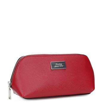 Červené dámske púzdro na zips bata, červená, 941-5224 - 13