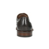Hnedé kožené poltopánky v Oxford štýle bata, hnedá, 826-4785 - 15