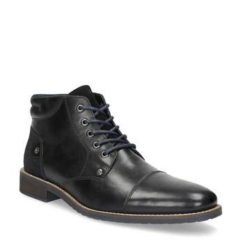 Členková pánska kožená obuv bata, čierna, 826-6611 - 13