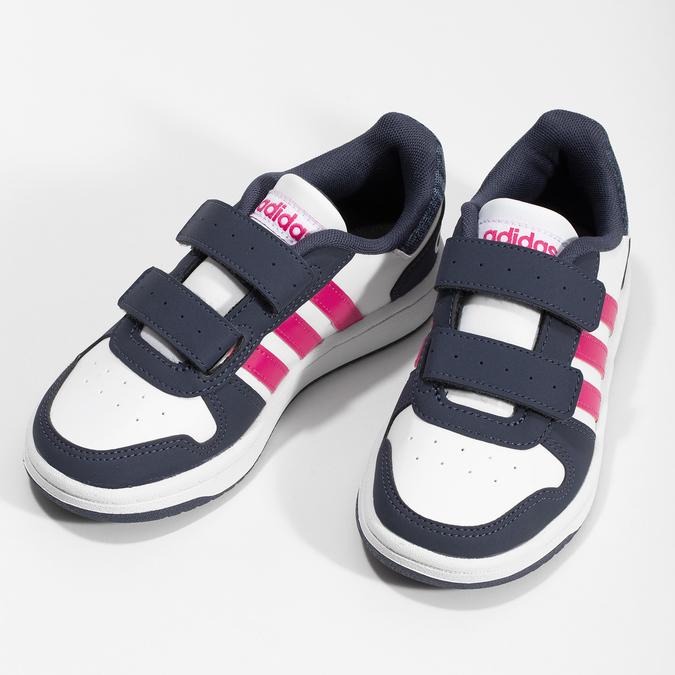 Detské ležérne tenisky so suchými zipsami adidas, viacfarebné, 301-1208 - 16