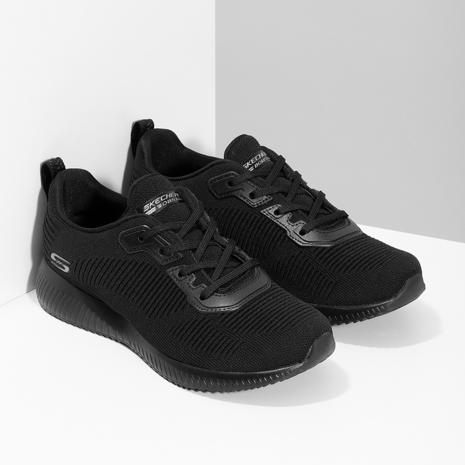 Čierne dámske ležérne tenisky skechers, čierna, 509-6146 - 26